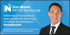 Dan Bidois MP